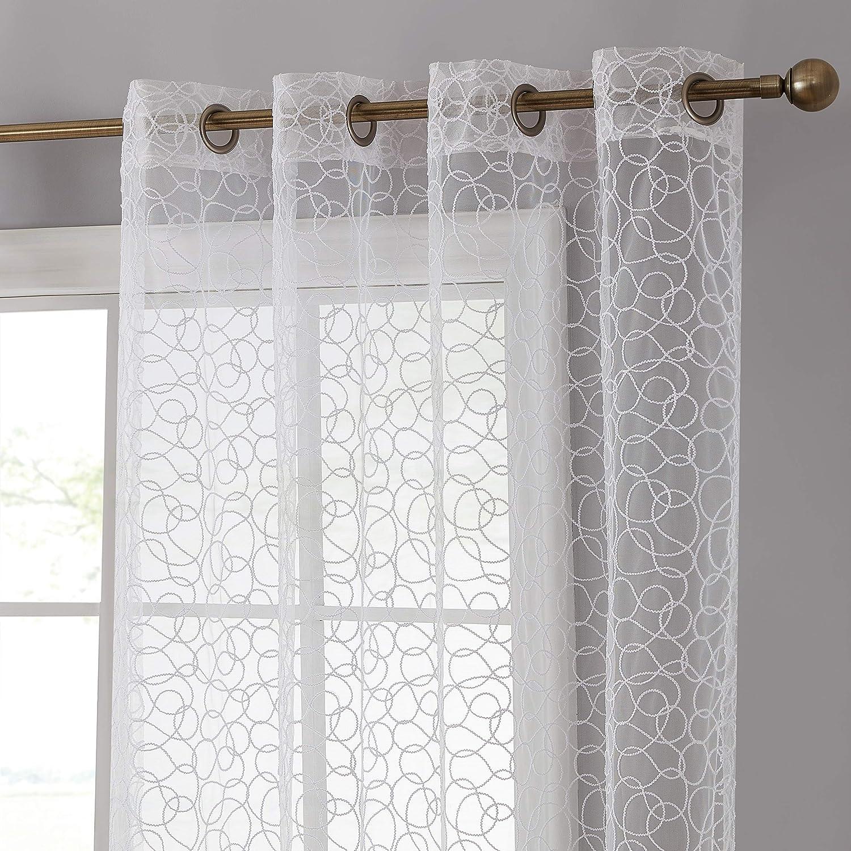ejemplo de cortinas romanticas traslucidas