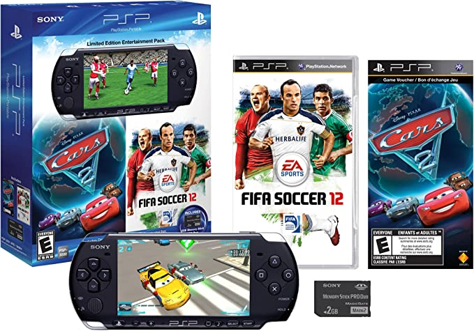 Sony PSP Entertainment Pack - juegos de PC (AVCHD, H.264, MPEG4, MP3, PCM, JPG, PSP CPU, MS Duo, 32 GB) Negro: Amazon.es: Videojuegos