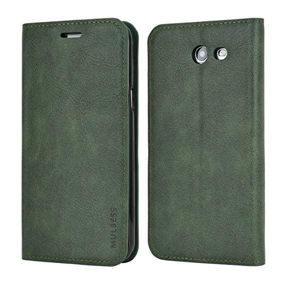 buy online ea0fb f080d Galaxy J3 Emerge Case,Galaxy J3 Eclipse Case,J3 Mission Case,J3 Prime  Case,Galaxy Express Prime 2 Case,Mulbess Leather Wallet Cover for Samsung  J3 ...
