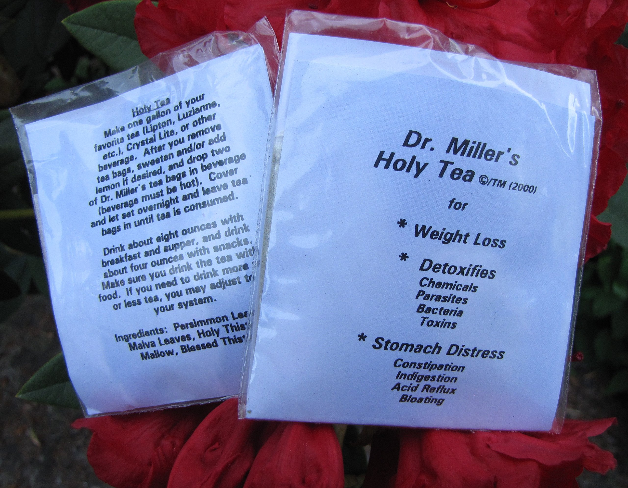 Dr. Miller's Holy Tea 48 Tea Bags 6 Mo supply, Guaranteed BEST PRICE PRICE Dr. Miller's #1 seller of Dr. Miller's Original Formula Holy Tea 48 Packets. 6 Month Supply