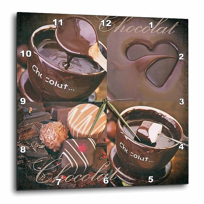 Chocolate and Praline Clock