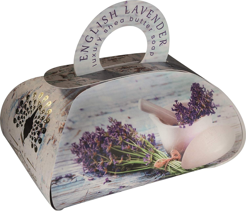 The English Soap Company, Large Gift Bag Bath Soap, English Lavender, 260g