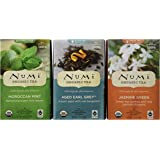 Numi Organic Tea Variety Pack of 3