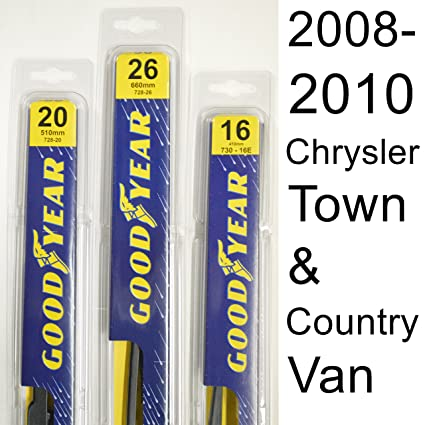 chrysler town and country 2013 wiper blades