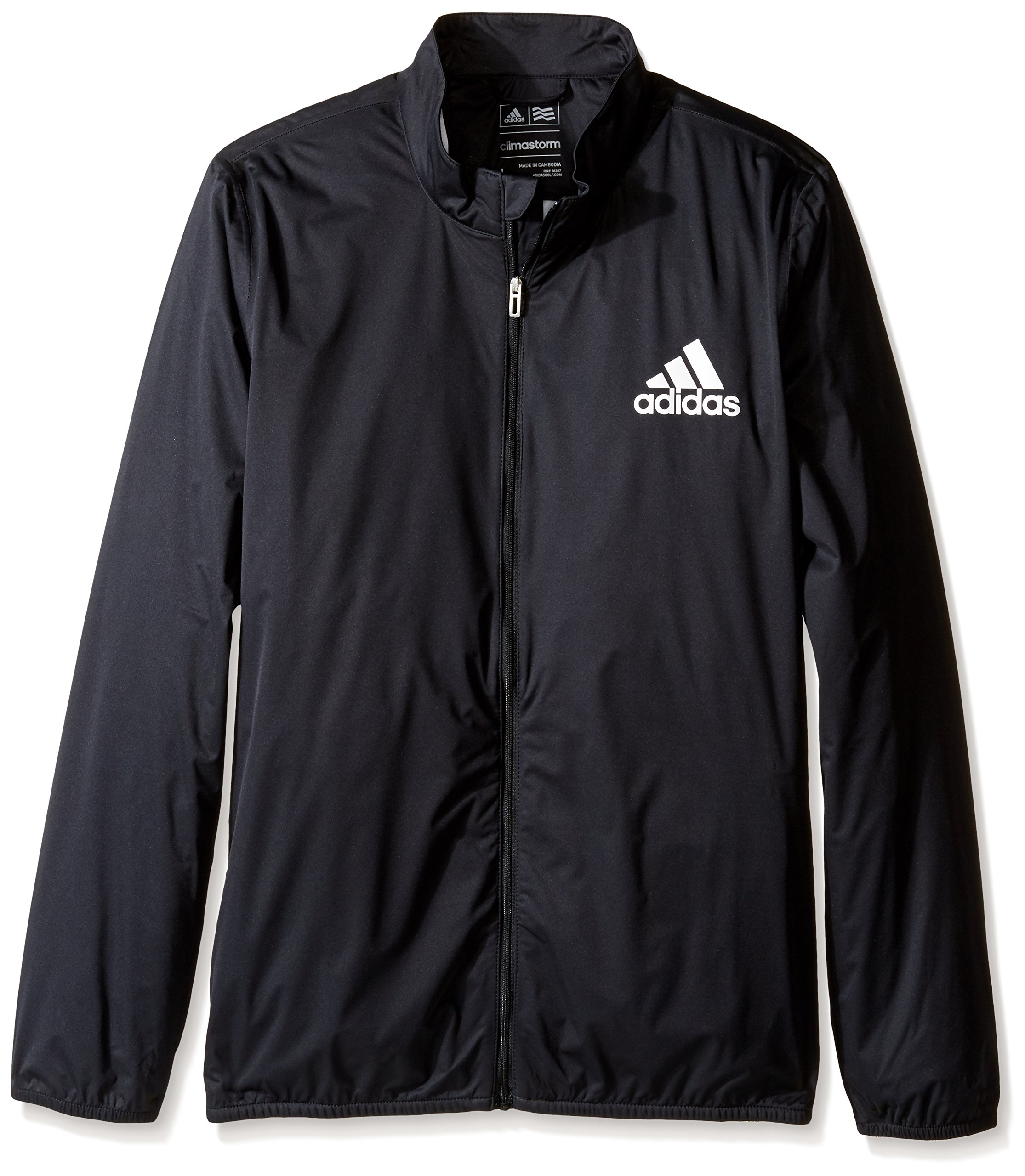 adidas Golf Climastorm Jacket, Black, Large by adidas