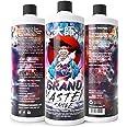 GRAND MASTER SMOKE (32oz) Soak & Wash Biodegradable Formula - Bong Cleaner / Glass Pipe & Hookah Cleaner - Sanitize + Deodori