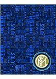 Inter Plaid Pile, Poliestere, Blu