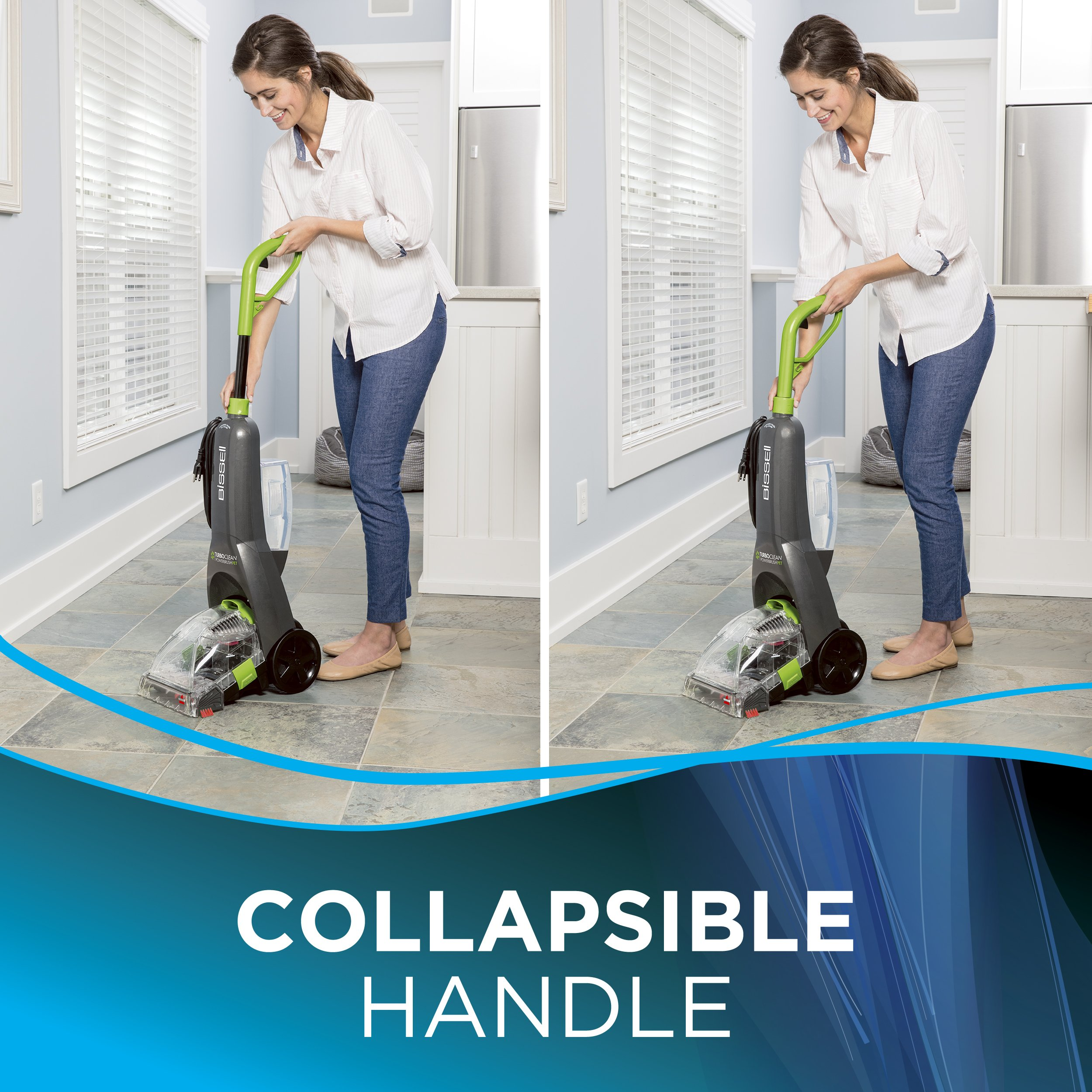 BISSELL Turboclean Powerbrush Pet Upright Carpet Cleaner Machine and Carpet Shampooer, 2085 by Bissell (Image #6)