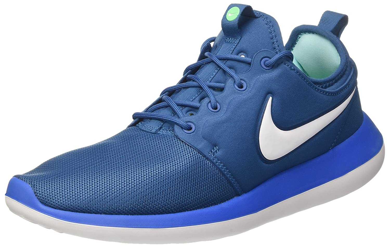 Nike Roshe Two, Zapatos para Correr para Hombre 43 EU|Azul (Industrial Blue/White/Photo Blue)