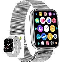 2021 Smartwatch Dama Caballero, notificaciones, Salud, Deportes, Larga duracion bateria, para iPhone y Android con 2…