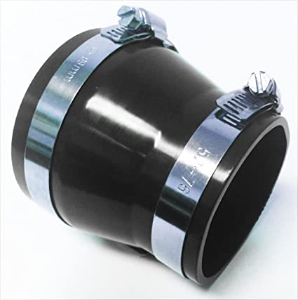 """BLACK 2.75/""""-2.75/"""" AIR INTAKE//PIPING RUBBER COUPLER FOR DODGE"""