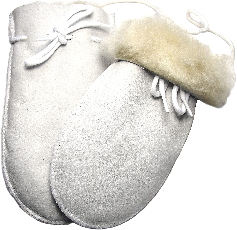 SAWA Baby Handschuhe aus Lammfell