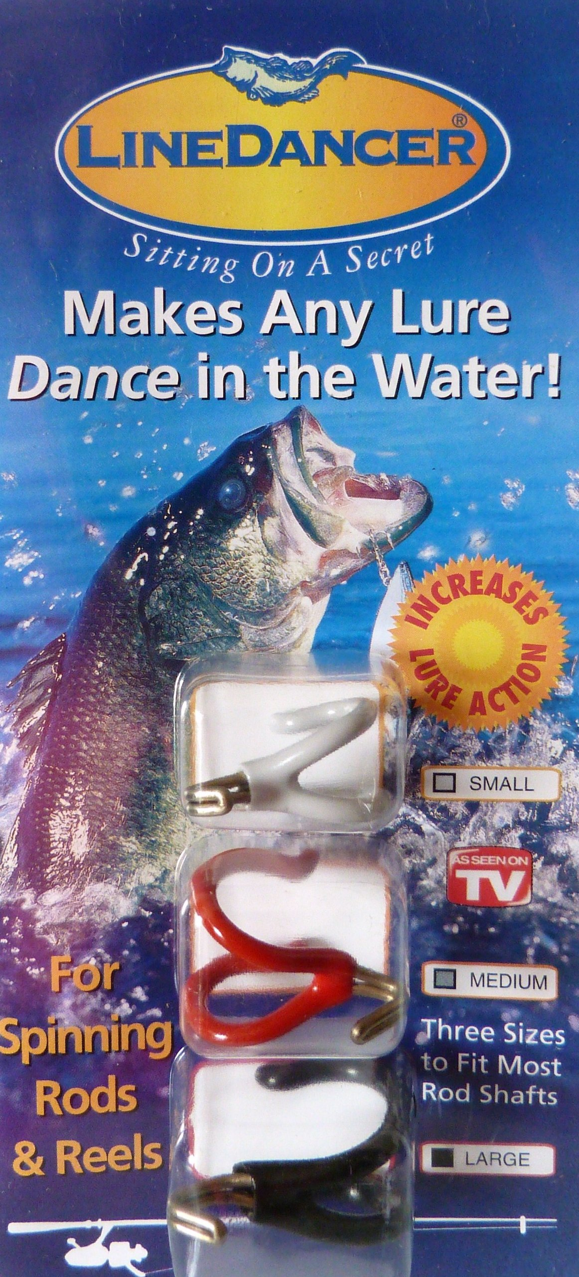 LineDancer Fishing Tool Increases Lure and Bait Action for Spinning Reels