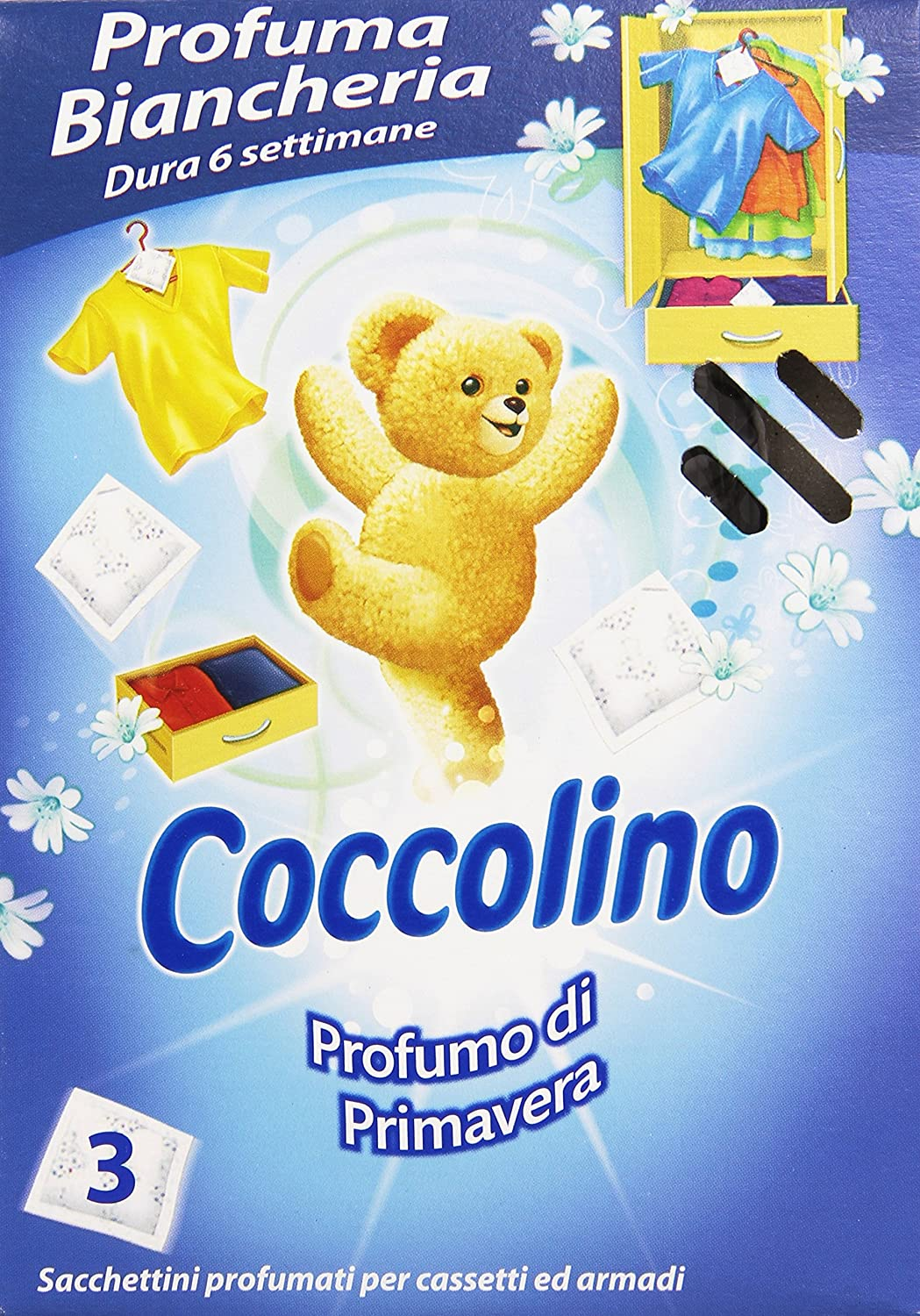 Coccolino–Assorted Laundry Fragrance, Perfumes–3Bags Perfumes-3Bags Unilever Italia (Retail)