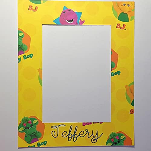Amazon.com: Barney Personalized Photo Frame Insert Mat 8\