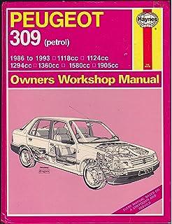 peugeot 309 workshop manual pdf