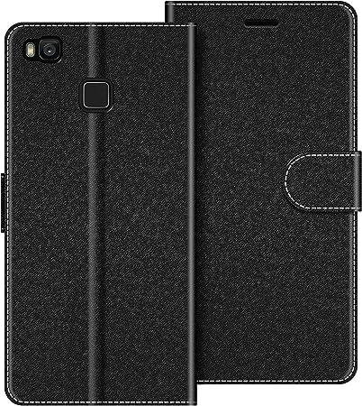 COODIO Custodia per Huawei P9 Lite, Custodia in Pelle Huawei P9 Lite, Cover a Libro Huawei P9 Lite Magnetica Portafoglio per Huawei P9 Lite Cover, ...