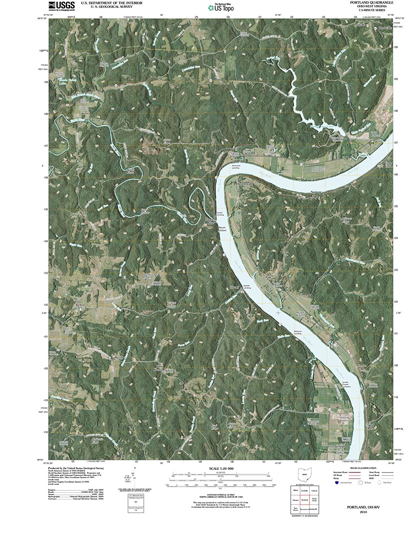 Amazon Com Ohio Maps 2010 Poland Oh Usgs Historical Topographic