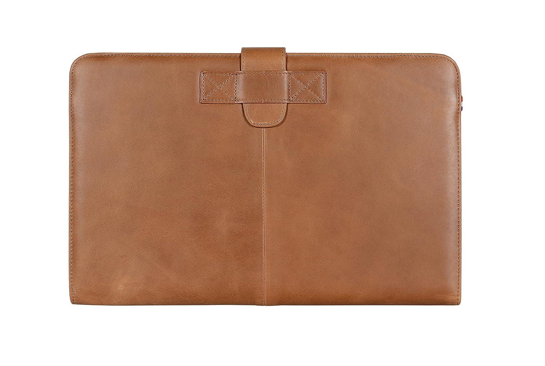 D4MA11SC1BN Apple Macbook Air 11 Leather Envelope Vintage Slim in Brown Decoded