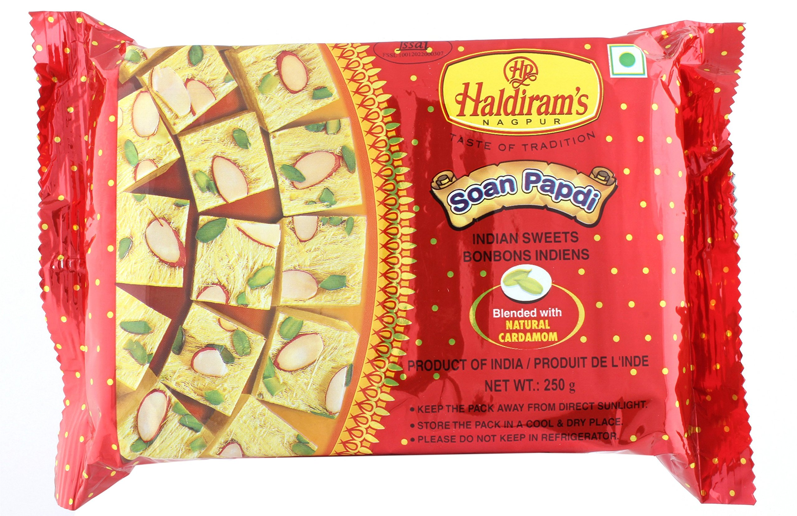 Haldirams Traditional Sweets - Soan Papdi, 250g Pack