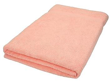 BETZ Toalla de baño XXL 100x200 cm 100% algodón Palermo de Color Albaricoque: Amazon.es: Hogar