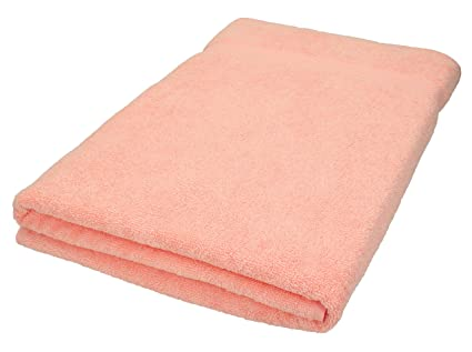BETZ Toalla de baño XXL 100x200 cm 100% algodón Palermo de Color Albaricoque