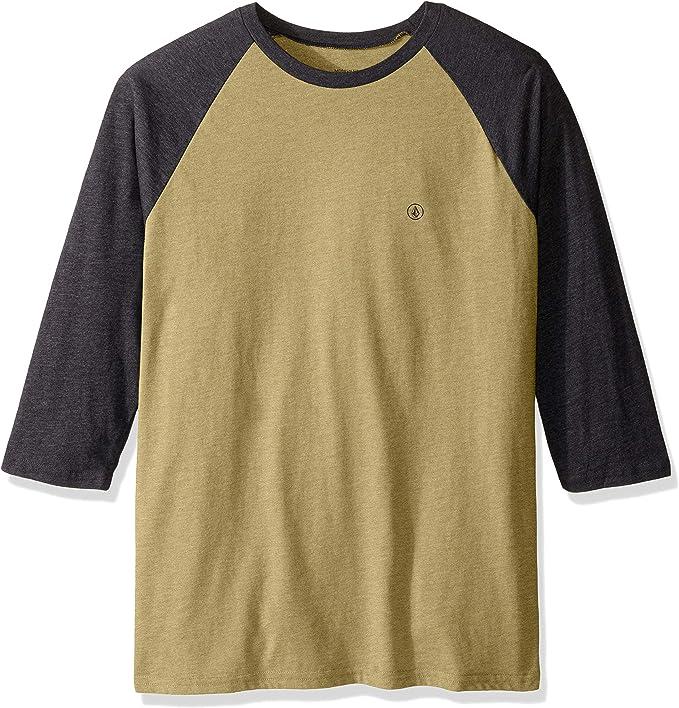 Volcom - Camiseta de manga 3/4 para hombre: Amazon.es: Ropa y accesorios