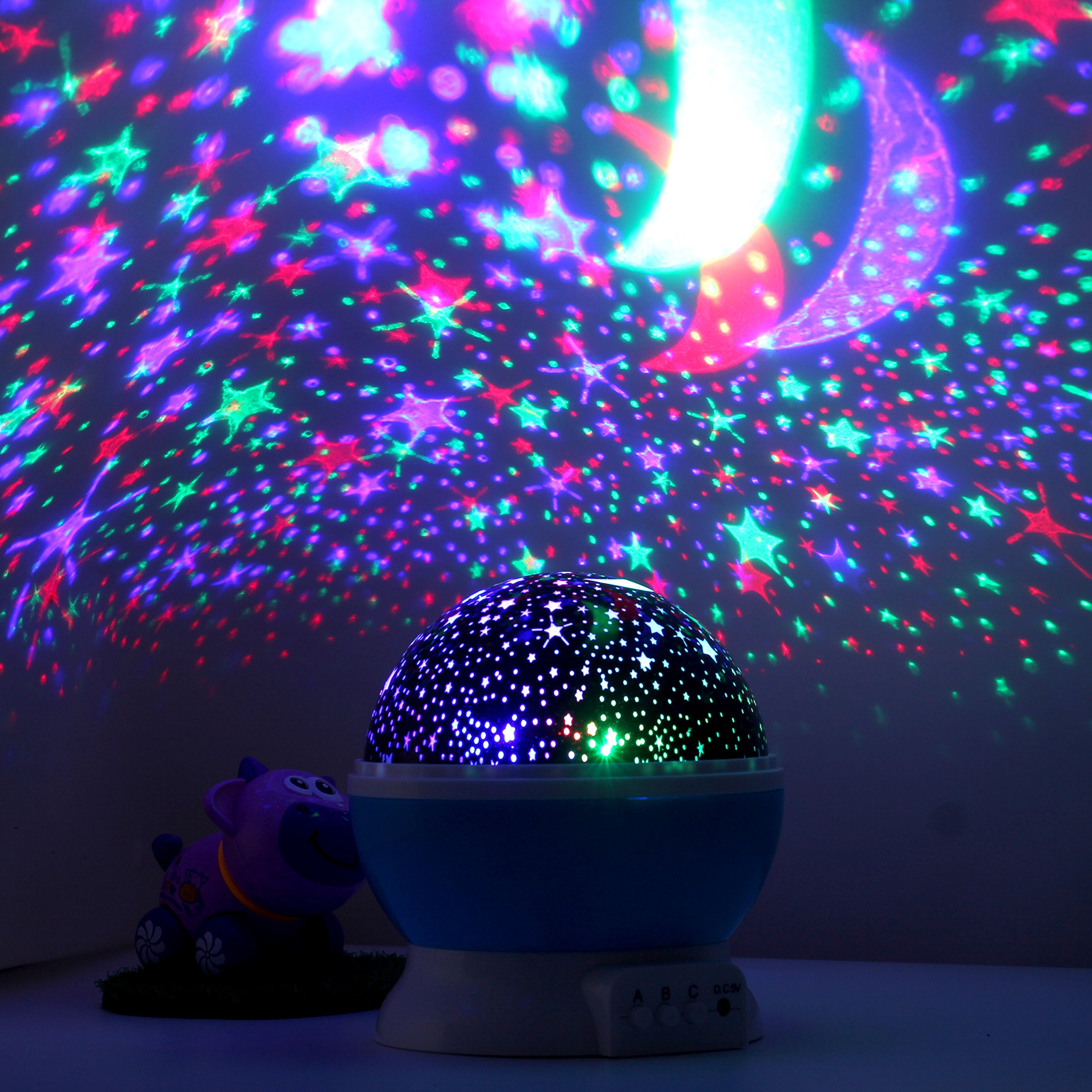 Led smart night lamp - Incredible Cosmos Projector Night Lamp The Cosmos Night Light Projector Is An Incredibly Smart Night Lamp That Projects The Cosmos On The Ceiling Of Your