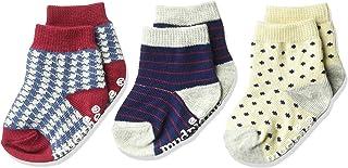 Mud Pie Baby Boys' Holiday Best 3 Pair Sock Set