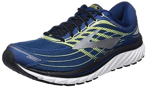 Brooks Glycerin 15, Zapatillas de Running Para Hombre, Multicolor (Bluelimesilver 1d473), 45.5 EU