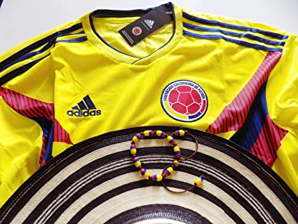 839132f5041 Amazon.com  Super Combo  Colombian National Team Jersey Russia 2018 ...