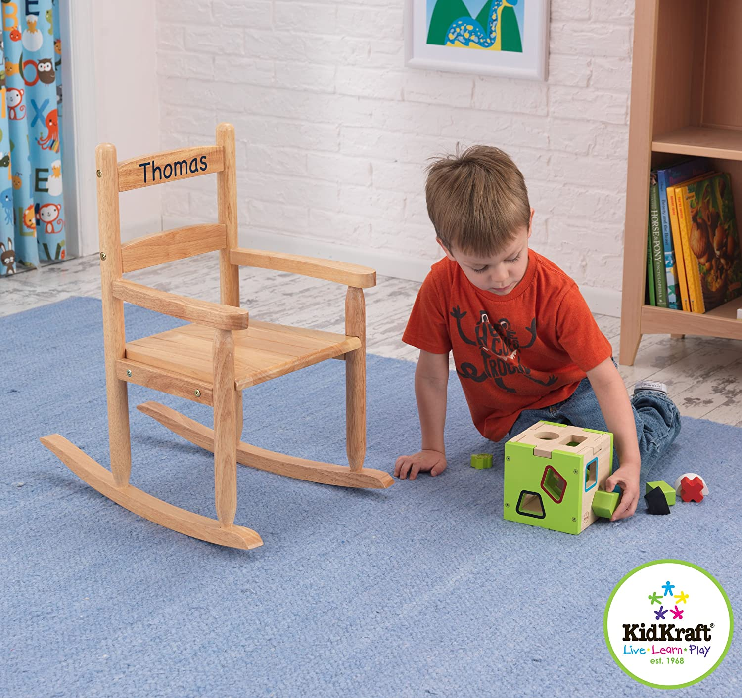 Kidkraft Rocking Chair Espresso Kidkraft 2 Slat Rocking