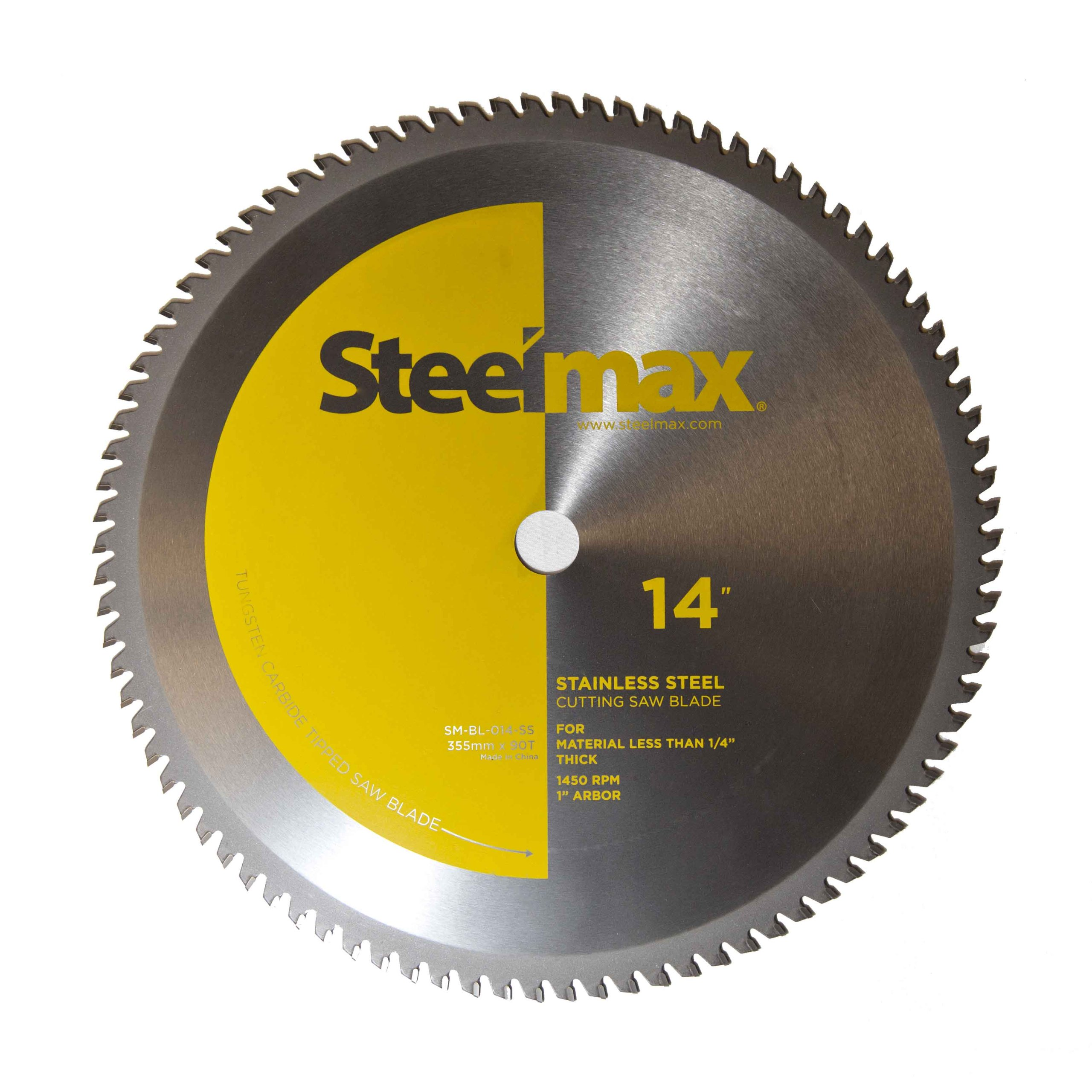 Steelmax 14'' TCT Blade for Aluminum