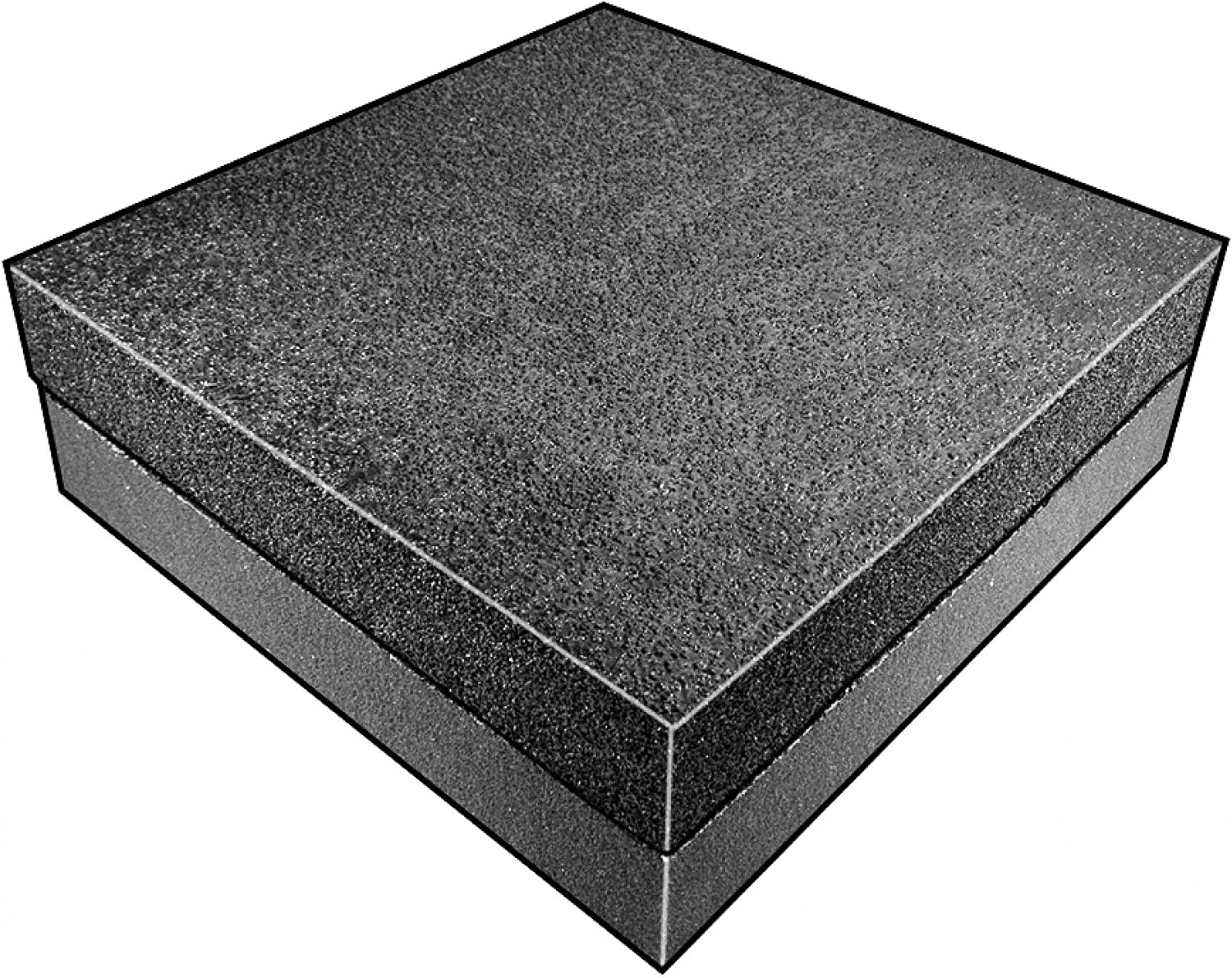 Polyurethane//Polyethylene 4 Thick Open Cell//Closed Cell Foam Sheet Charcoal 24 W X 48 L