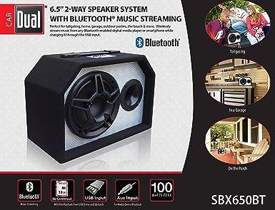 Review Dual Electronics SBX650BT 2