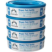 4-Pack Mama Bear Amazon Brand Diaper Pail Refills (270 Count)