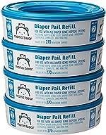 Amazon Brand - Mama Bear Diaper Pail Refills for Diaper Genie