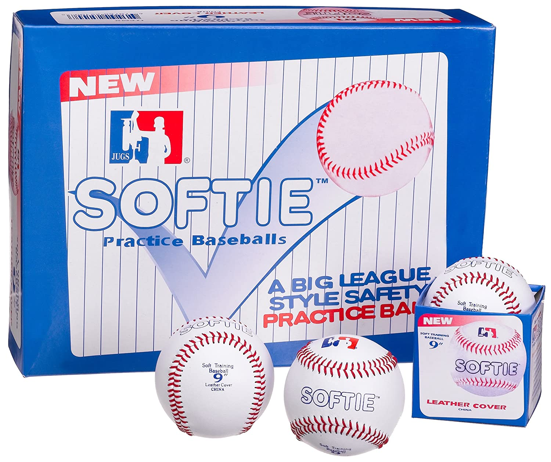 Jugs Sports Softie Training Baseballs (One Dozen) B5100