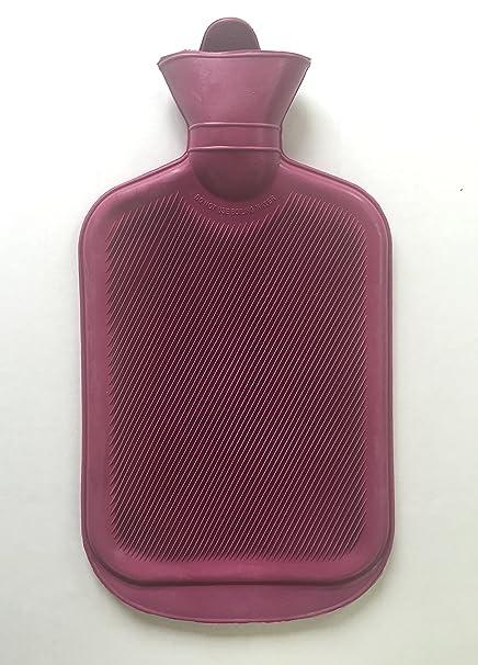 Bolsa agua caliente de goma natural, mantiene el calor mucho ...