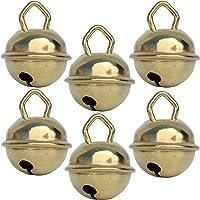 Cascabeles de oro (dorado) (x6 – Esfera 15