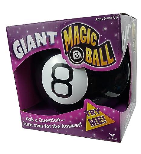Amazon.com  Cardinal Games Giant Magic 8 Ball Nostalgic Game  Toys   Games 8ad7244592