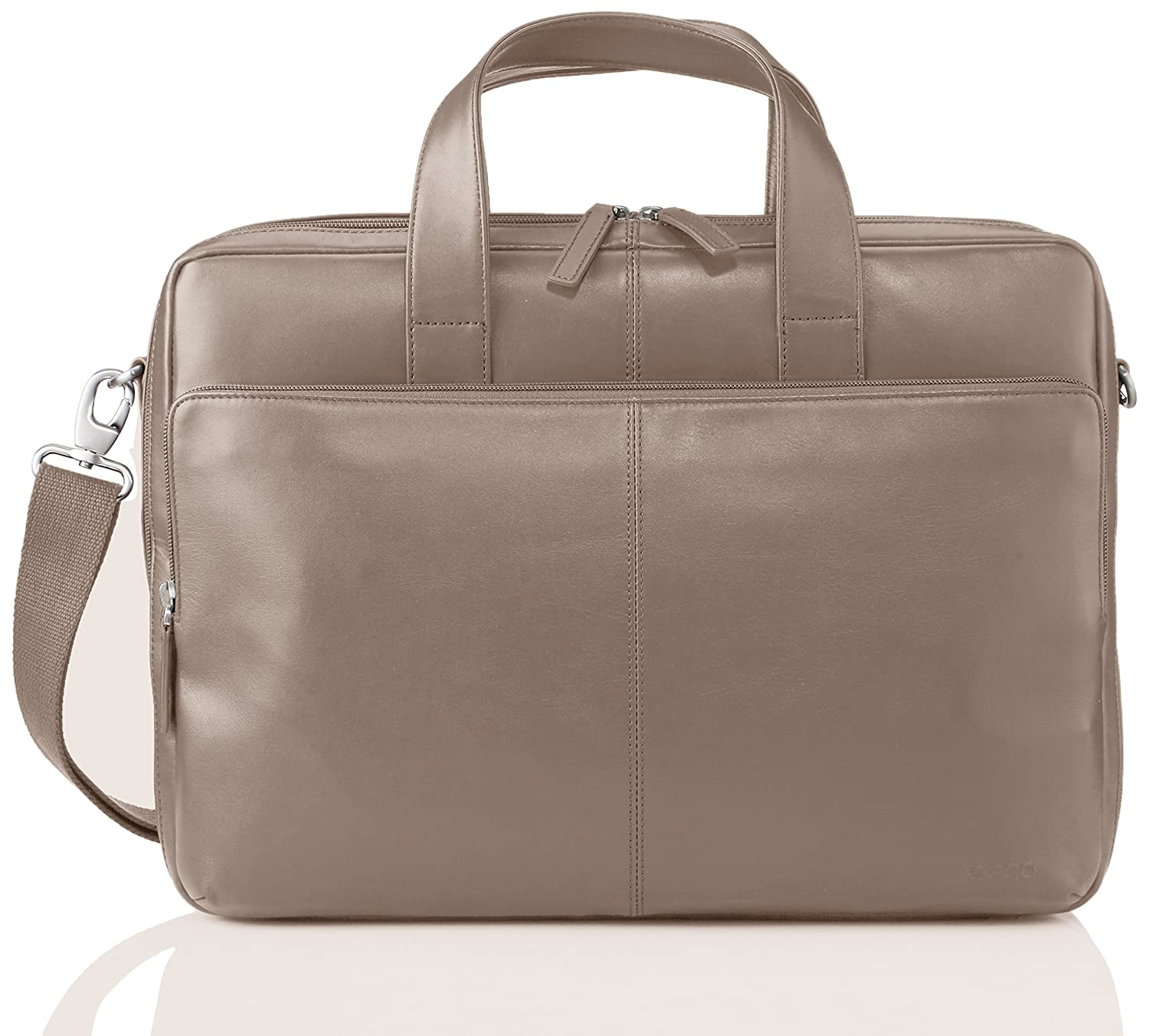 cbbc121e2e9 Amazon.com: ECCO Foley Laptop Bag, Stone, One Size: Golf Overstock