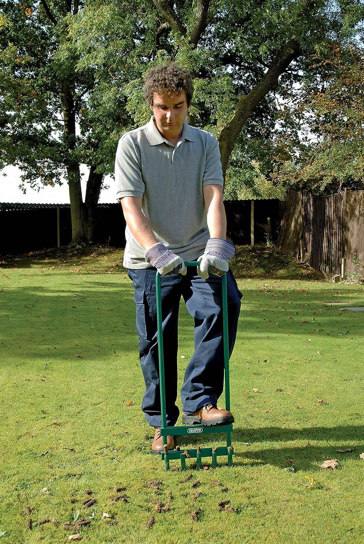 Hand Tools Manual Lawn Aerators Draper 76772 5-Prong Lawn Aerator ...