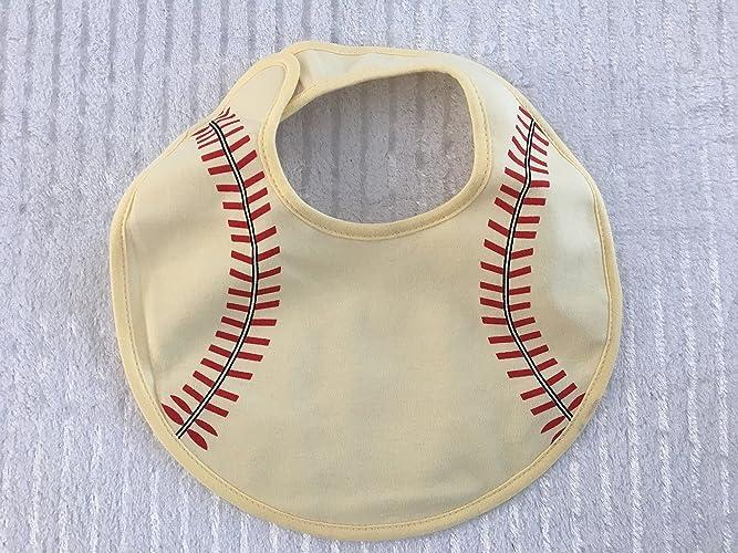 Amazon baseball baby bib custom baby bib personalized baby baseball baby bib custom baby bib personalized baby gift baby shower gift negle Images