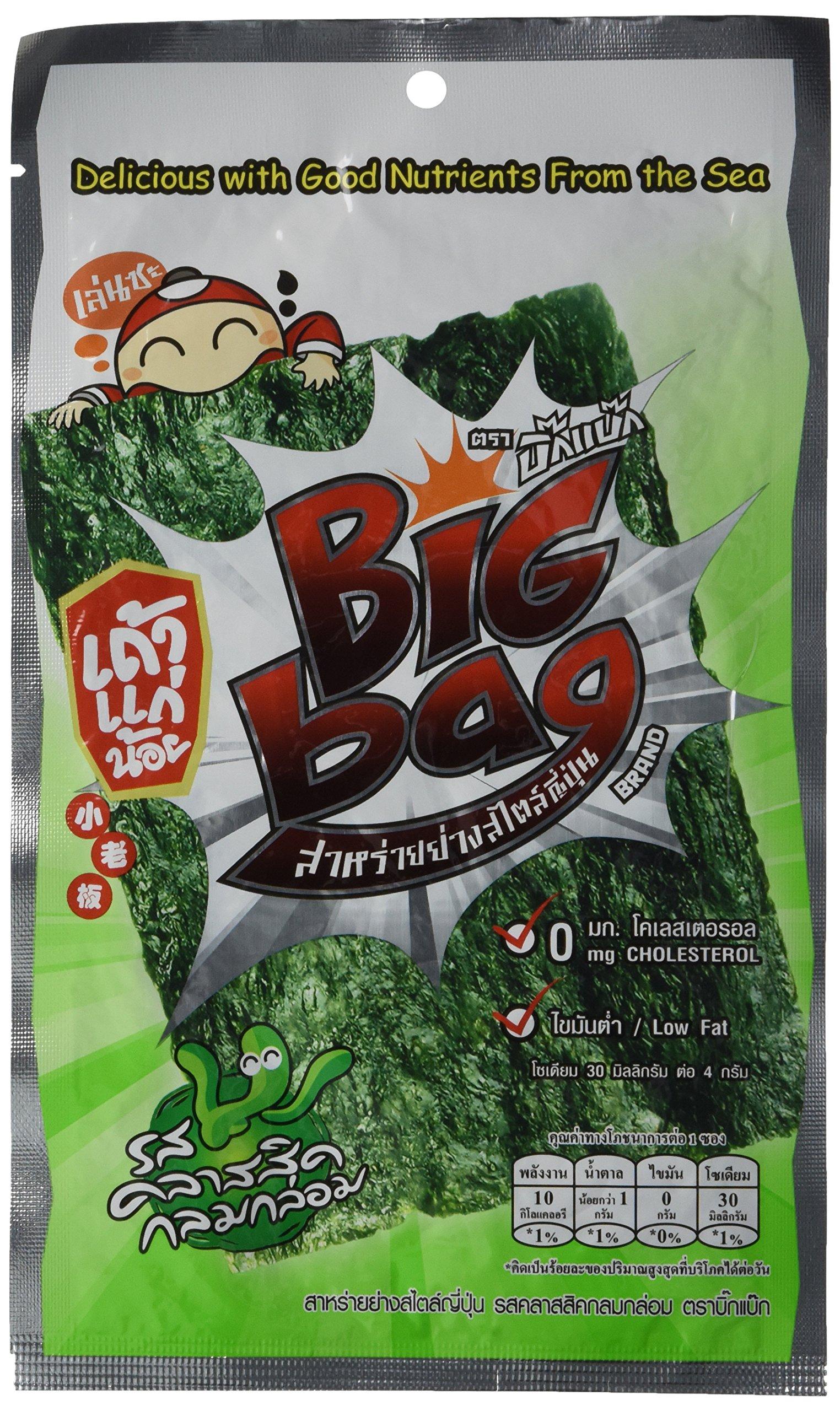 Foodkoncept Taokaenoi Thai Snacks Most Famous Seaweed Classic Flavour (48g) 12 Packs