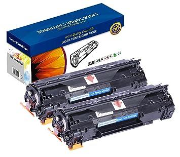 Cartucho de tóner láser para HP CE285A CB435A: Amazon.es: Electrónica
