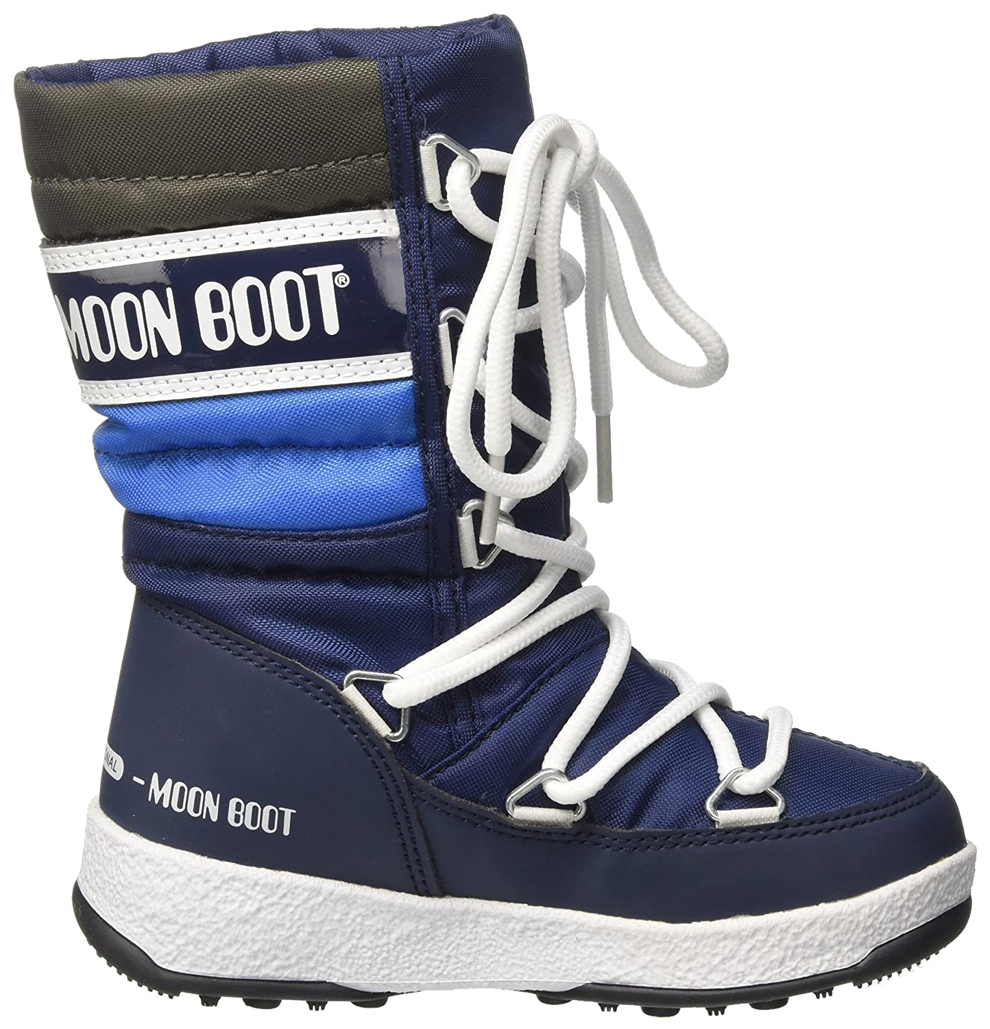 26410e2fc Moon Boot Unisex Kids' We Quilted Jr Wp Snow