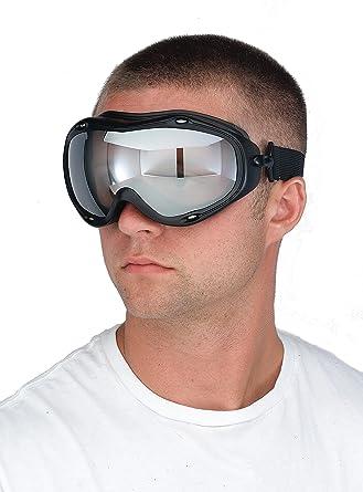 Safety Goggles Over Prescription Glasses