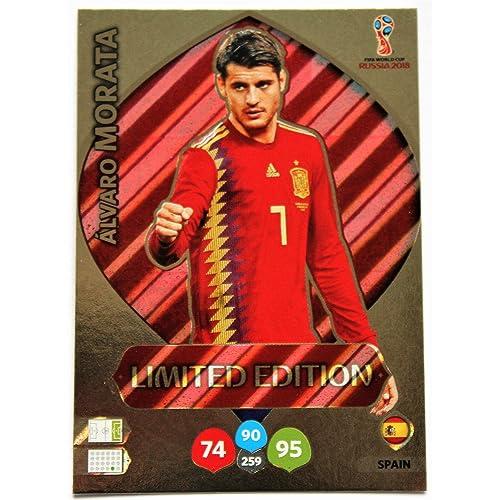 Panini Adrenalyn XL Coupe du Monde 2018 - Morata Espagne carte edition limité
