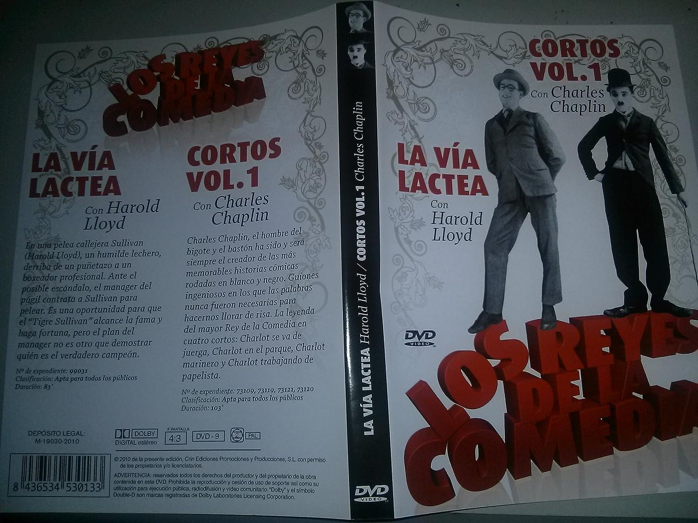 LOS REYES DE LA COMEDIA - La Vía Láctea / Cortos Vol.1: Amazon.es: Charles Chaplin, Harold LLoyd: Cine y Series TV